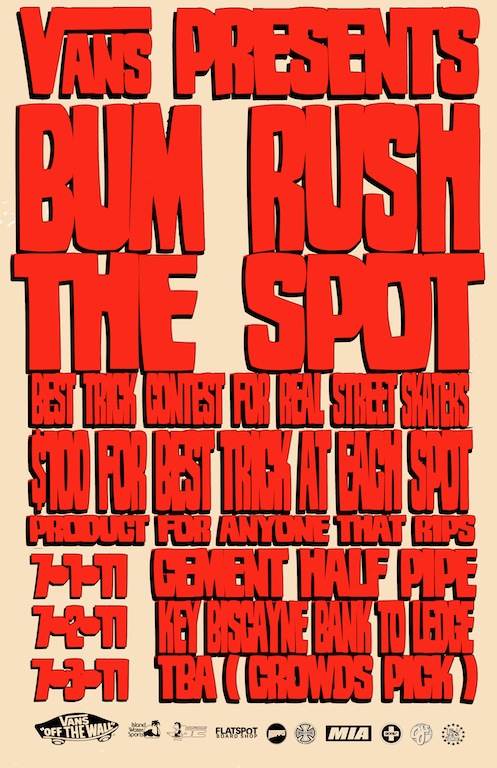 BUM-RUSH-THE-SPOT-POSTER-JULY-word-in-town