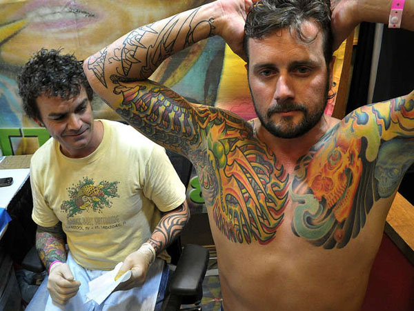 Damien Bart-Tommy-Foresman-16th-Annual-Florida-Tattoo-Expo-marriot-word-in-town