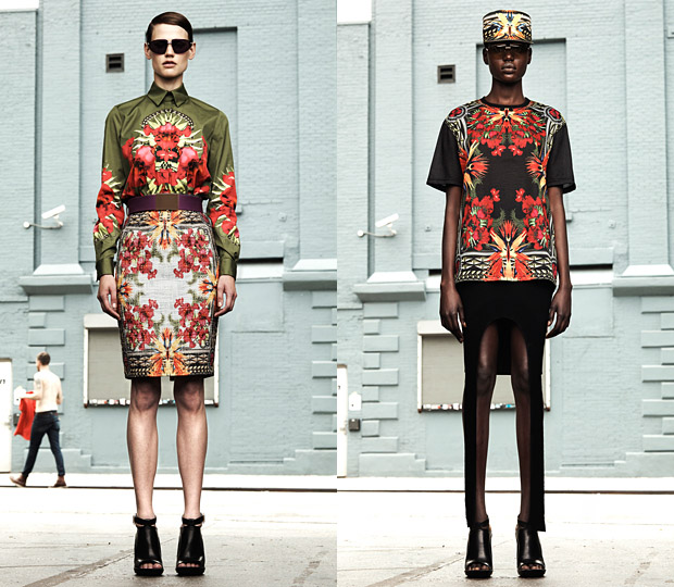 Givenchy-Resort-2011-Womens-Floral-Print-Collection-word-in-town