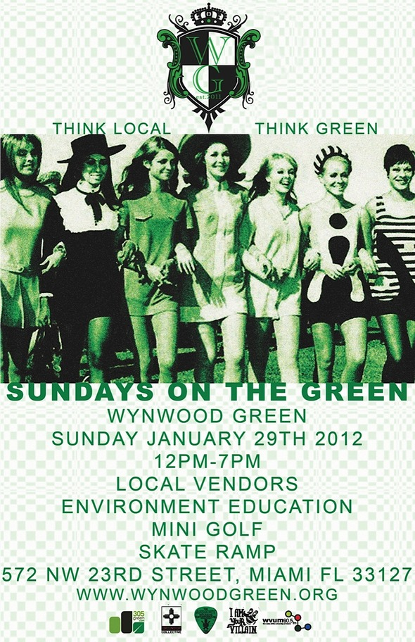 SUNDAYS ON THE GREEN JANUARY-29-2012-art-skate-mini-ramp-vendors-environment-awareness-education-wynwood-miami