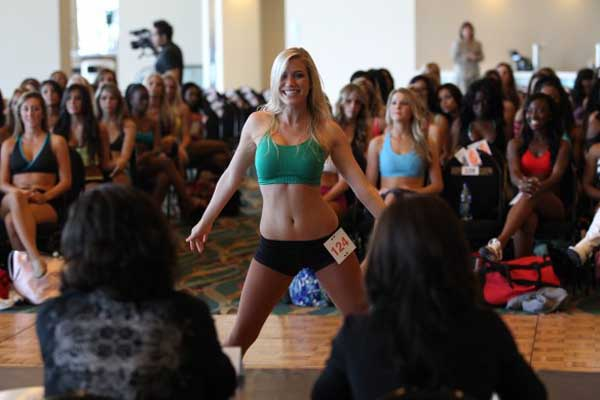Dolphin cheerleaders Auditions