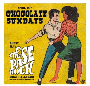 choclate Sunday with The Pase Rock