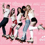 evian roller skate pop up party-miami-beach