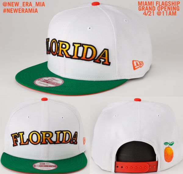 New-era-snapback-hat-florida-limited-edition-flagship-store-miami-beach