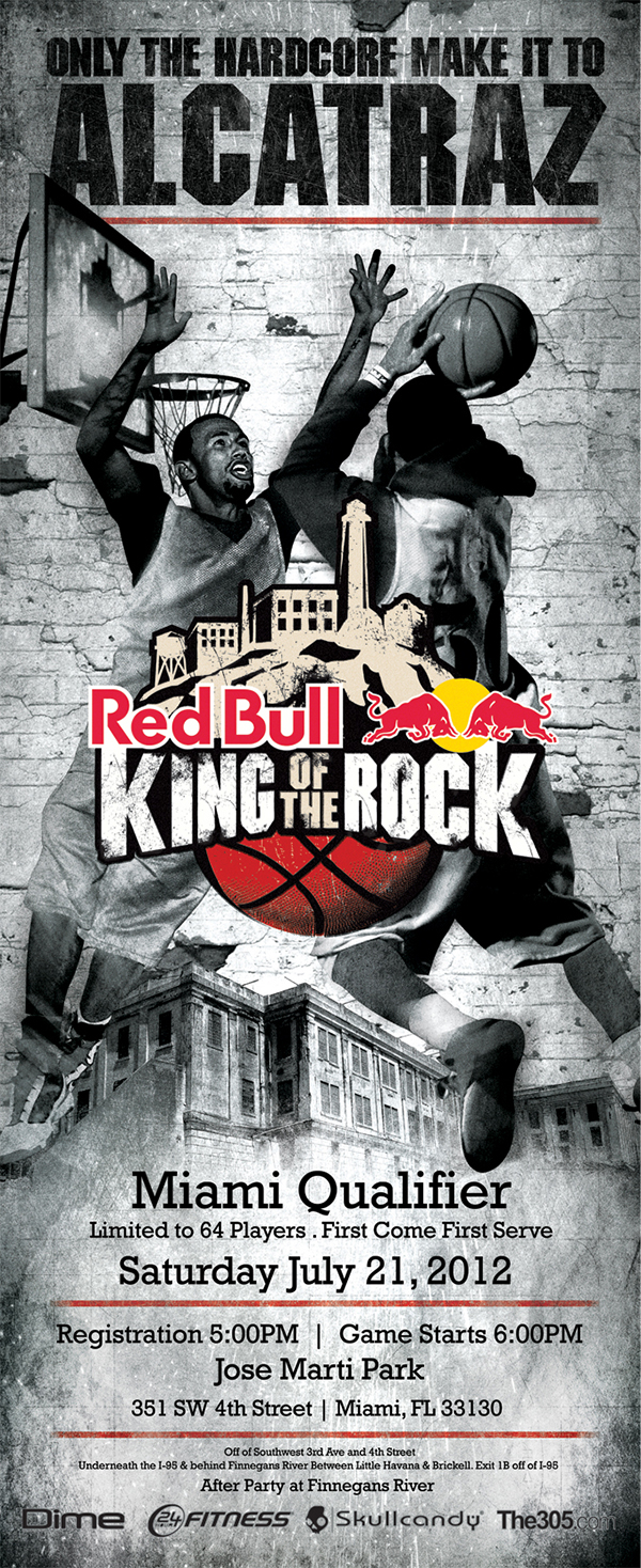 Red-bull-energy-drink-king-of-the-rock-basketball-competition-miami-qualifier-tournament