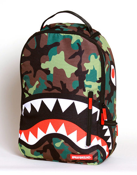 Camo-Shark-week-inspired-sprayground-backpacks-accessories-laggage