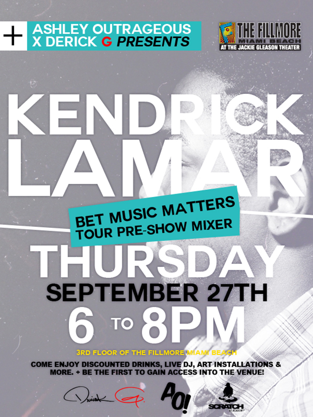 Kendrick-Lamar-mixer-the-fillmore-miami-beach-pre-show