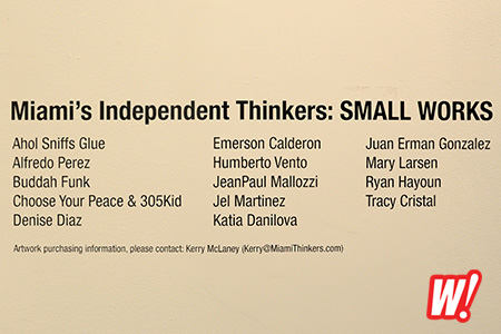 Miiami-independent-thinkers-small-works-line-up-wynwood-exhibition-center-miami-art-show