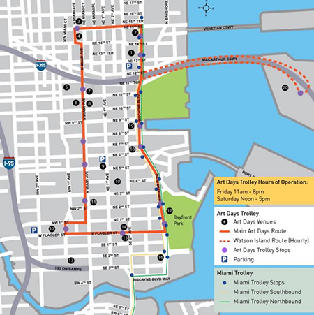 downtown-art-days-map-miami-DWNTWN-culture-event