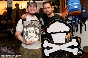 Coinslot &amp; Johnny Cupcakes at Shoe Gallery Miami