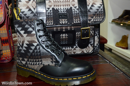 Dr-Marten-x-Pendleton-collection-fall-2012-boot-satchel-bag-accessories-footwear-classics-flannel-01