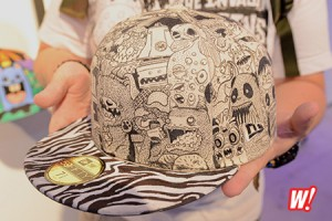 New-Era-Introducing-Alexander-perez-creation-art-fitted-cap-hat-Miami-artist