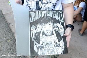 Miami&#039;s artist Coinslot Drawing for Johnny Cupcakes