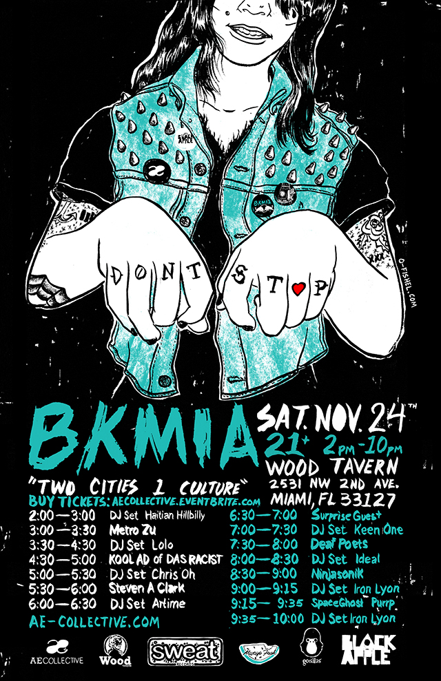 BKMIA-Two-cities-one-culture-wynwood-wood-tavern-november-24-2012