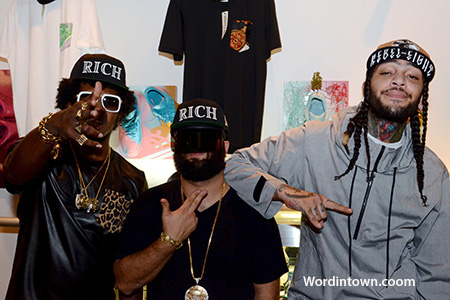 Trinidad-James-Vintage-Frames-Travie-McCoy-The-Rich-Event-atcmia