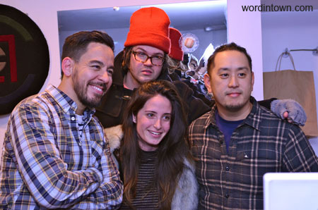 Mike-shinoda-joe-hahn-linkin-park-sebago-event-reed-space-new-york