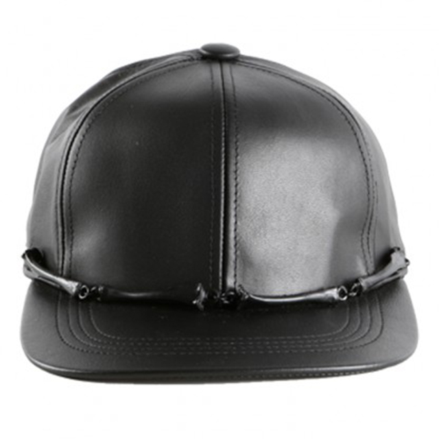 hip-and-bone-leather-bones-cap-black