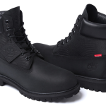Timberland x Supreme-new-york-black-waterproof-boot-