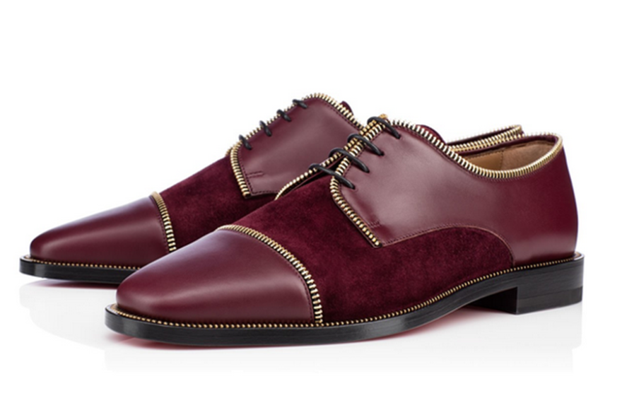 Christian Louboutin Bruno Zip Men's Fall Winter 2014-footwear