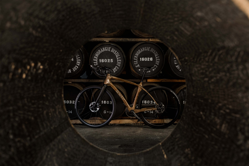 Hero Glenmorangie Distillery bike shot